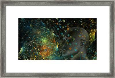 Universal Mind Framed Print by Betsy C Knapp