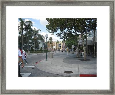 Universal Orlando Resort - 121221 Framed Print by DC Photographer