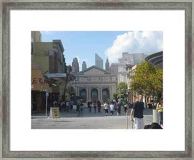 Universal Orlando Resort - 121223 Framed Print by DC Photographer