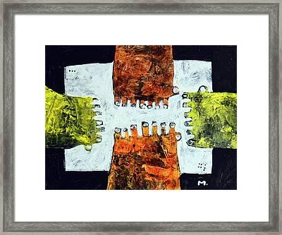 Universi No. 10  Framed Print by Mark M  Mellon