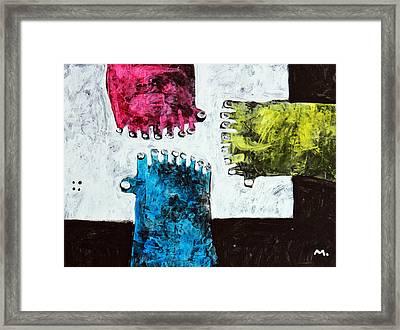 Universi No. 9 Framed Print by Mark M  Mellon