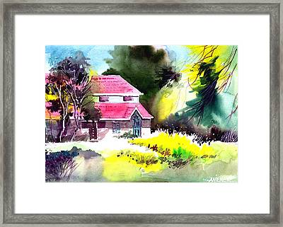 University 2 Framed Print by Anil Nene