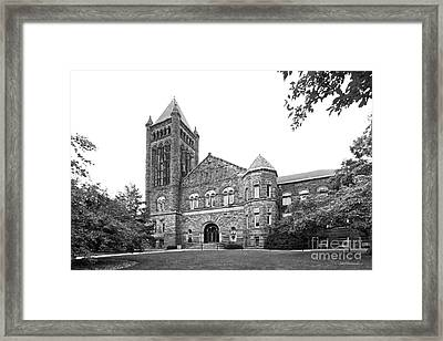 University Of Illinois Altgeld Hall Framed Print by University Icons