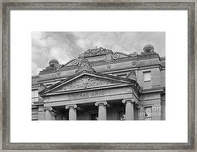University Of Iowa Schaeffer Hall Framed Print by University Icons