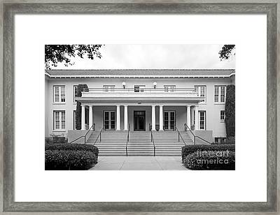 University Of La Verne Miller Hall Framed Print by University Icons