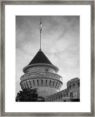 University Of Minnesota Armory  Framed Print by University Icons