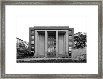 University Of Minnesota Ford Hall Framed Print by University Icons