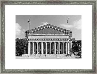 University Of Minnesota Northrop Auditorium Framed Print by University Icons