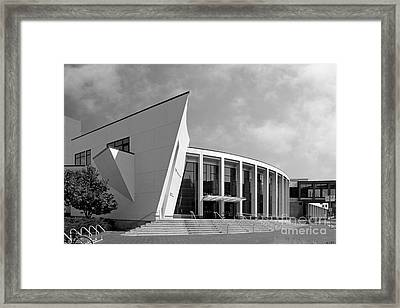 University Of Minnesota Regis Center For Art Framed Print by University Icons