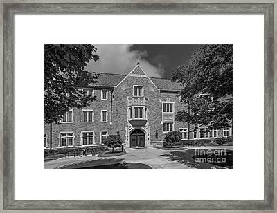 University Of Notre Dame Coleman- Morse Center Framed Print by University Icons