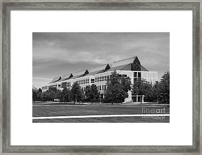 University Of Notre Dame De Bartolo Hall Framed Print by University Icons