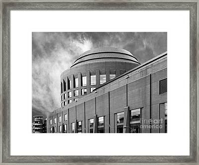 University Of Pennsylvania Wharton School Of Business Framed Print by University Icons