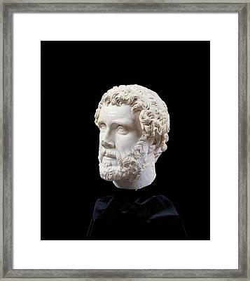 Unknown Artist, Portrait Of Antoninus Framed Print by Everett