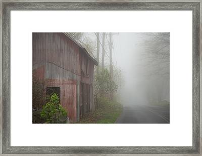 Unknown Where The Road Will Take You Framed Print by Karol Livote