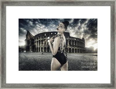 Unleashed Framed Print by Yhun Suarez
