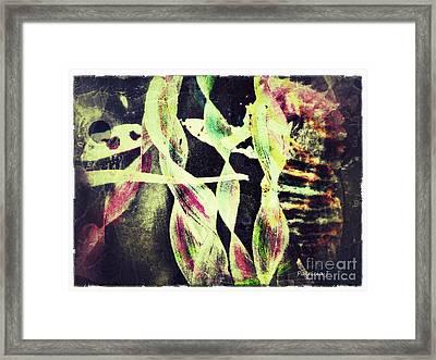 Unraveled Framed Print by Patricia Januszkiewicz