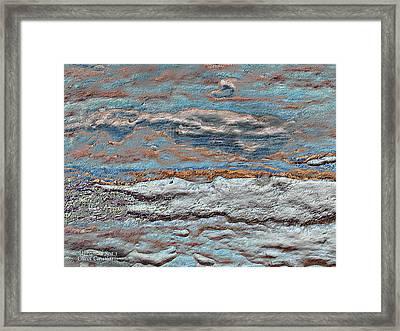 Untamed Sea 1 Framed Print by Carol Cavalaris
