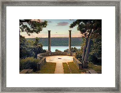 Untermyer Vista Framed Print by Jessica Jenney