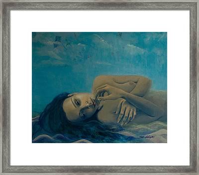 Until Forever Framed Print by Dorina  Costras