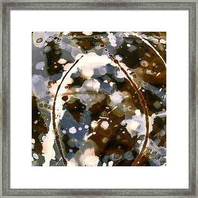 Coffee And Cigarettes Framed Print by Odessa Christiana