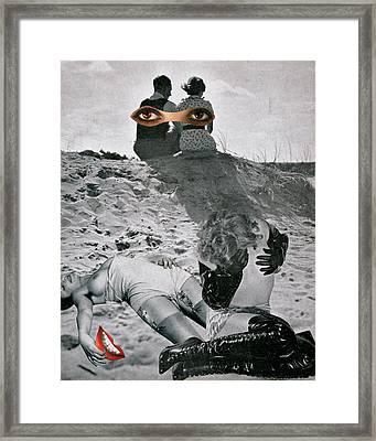 Untitled, 1935 Framed Print by Georges Hugnet