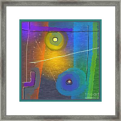 Untitled 313 Framed Print by Nedunseralathan R