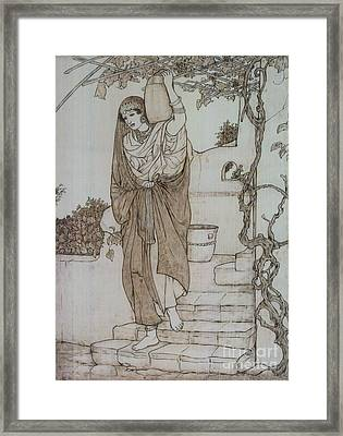 Persia Framed Print by Eileen Annest