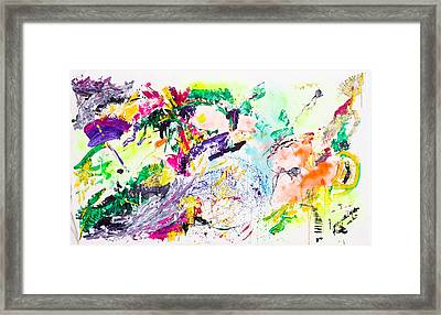 Untitled Number Eight Framed Print by Maria  Lankina