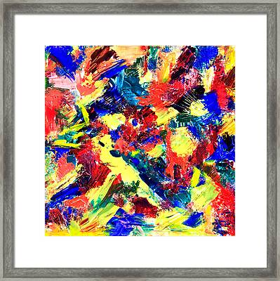 Untitled Number Nineteen Framed Print by Maria  Lankina