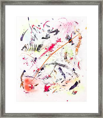 Untitled Number Seven  Framed Print by Maria  Lankina