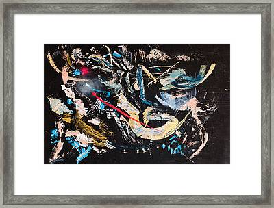 Untitled Number Ten Framed Print by Maria  Lankina