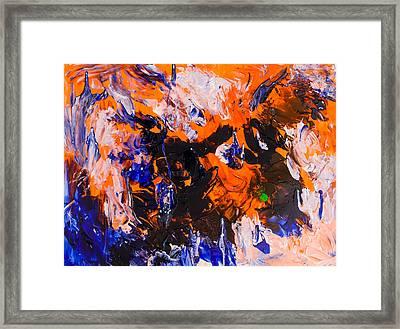 Untitled Number Twenty Five Framed Print by Maria  Lankina