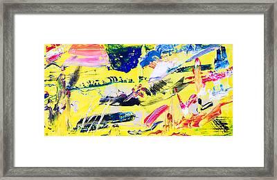 Untitled Number Twenty One Framed Print by Maria  Lankina