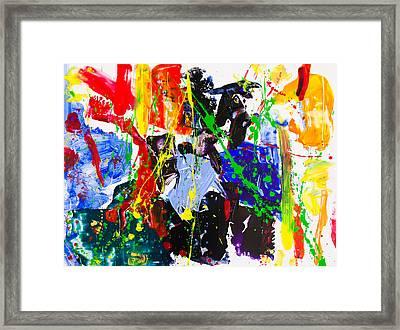 Untitled Number Twenty Three Framed Print by Maria  Lankina
