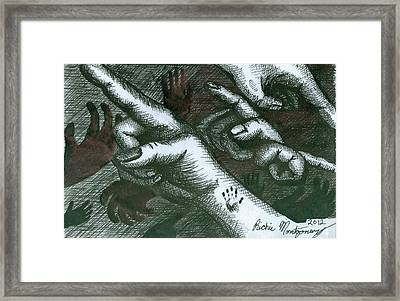 Untitled  Framed Print by Richie Montgomery