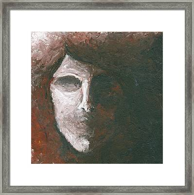 Untitled Shadows Framed Print by Monica Veraguth