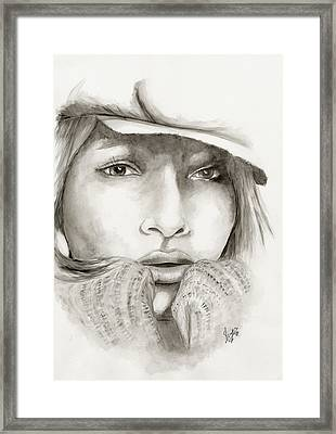 Untitled Framed Print by Sheyenne Johnson