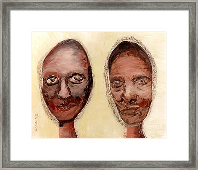 Untitled Two Framed Print by Anna Skaradzinska