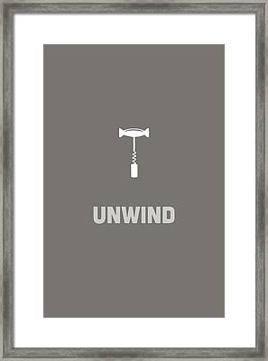 Unwind Framed Print by Nancy Ingersoll