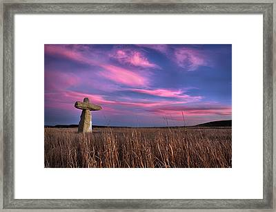 Unyielding Framed Print by Thomas Zimmerman