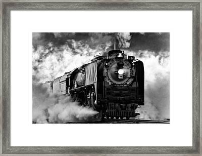 Up 844 Steaming It Up Framed Print by Bill Kesler