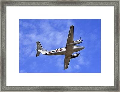 Up And Away Framed Print by Jason Politte