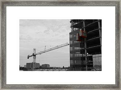 Up And Down Framed Print by Chris Martin
