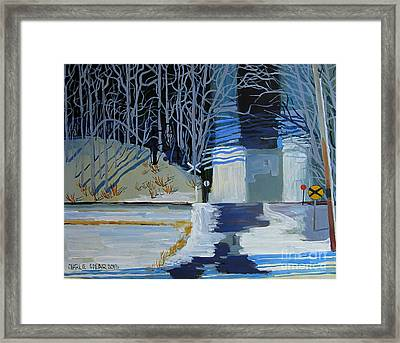 Up Black Hill Framed Print by Charlie Spear