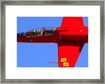 Up Close And Violated At The Reno Air Races. N757sf.jpg Framed Print by John King
