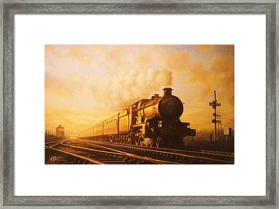Up Express To Paddington Framed Print by Mike  Jeffries