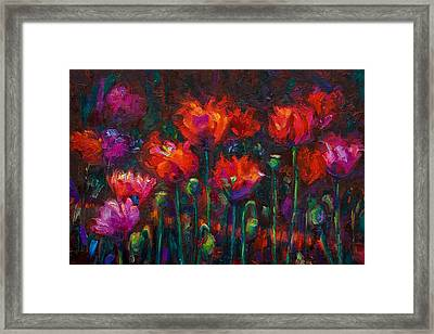 Up From The Ashes Framed Print by Talya Johnson
