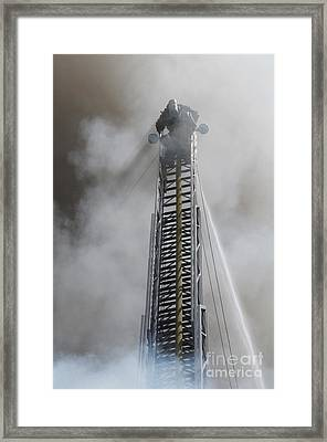 Up In Smoke Framed Print by Dan Holm
