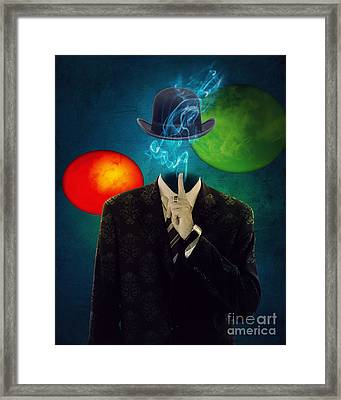 Up In Smoke Framed Print by Juli Scalzi