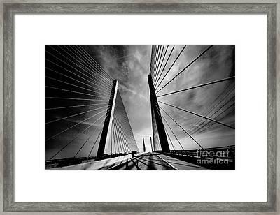Up N Over Framed Print by Robert McCubbin